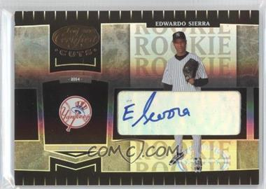 2004 Leaf Certified Cuts #263 - Eduardo Sierra /299
