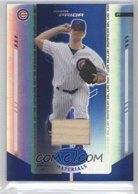 2004 Leaf Certified Materials Blue Mirror Bat #133 - Mark Prior /50
