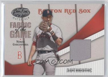 2004 Leaf Certified Materials Fabric of the Game #FG-137 - Nomar Garciaparra /100
