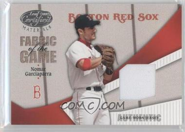 2004 Leaf Certified Materials Fabric of the Game #FG-183 - Nomar Garciaparra /100