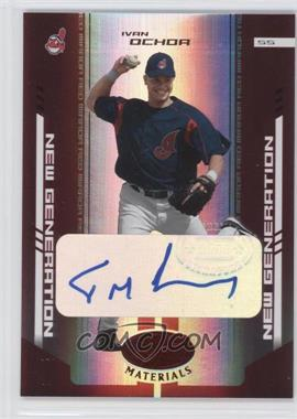 2004 Leaf Certified Materials Red Mirror Autograph [Autographed] #255 - [Missing] /200