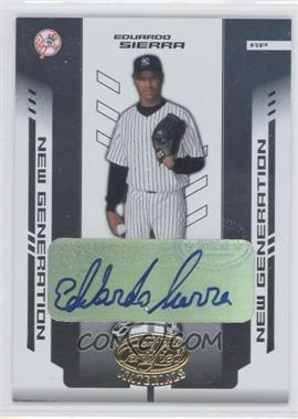 2004 Leaf Certified Materials #251 - Eduardo Sierra /500