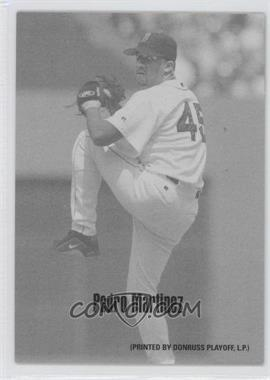 2004 Leaf Exhibits 1947-66 PDPSCR Printed by Donruss Playoff Print Name #35 - Pedro Martinez /66