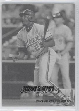 2004 Leaf Exhibits 1947-66 PDPSCR Printed by Donruss Playoff Print Name #49 - Vladimir Guerrero /66