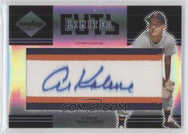 2004 Leaf Limited Limited Cuts #LC-17 - Al Kaline /100