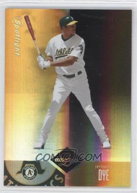 2004 Leaf Limited Spotlight Gold #61 - Jermaine Dye /25