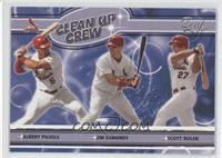 Albert Pujols, Jim Edmonds, Scott Rolen