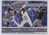 Todd Helton, Preston Wilson, Larry Walker