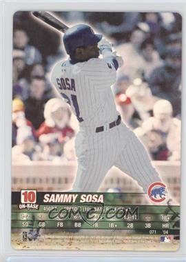 2004 MLB Showdown - [Base] #071 - Sammy Sosa