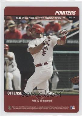 2004 MLB Showdown - Strategy #S13 - Pointers