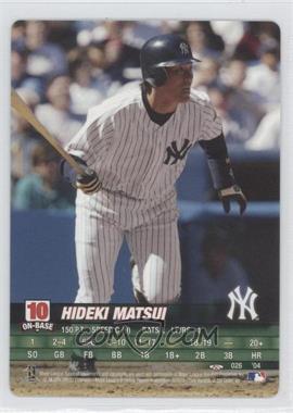 2004 MLB Showdown [???] #10 - Hideki Matsui