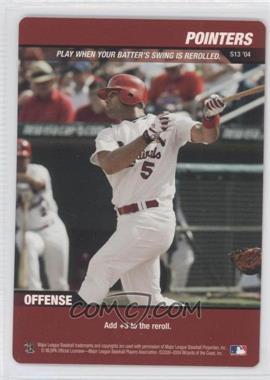 2004 MLB Showdown [???] #N/A - Albert Pujols