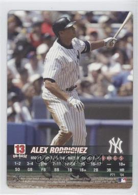 2004 MLB Showdown Promo #P71 - Alex Rodriguez