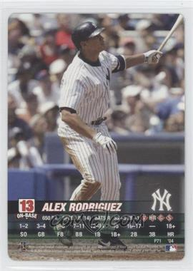 2004 MLB Showdown Promo #PN/A - Alex Rodriguez