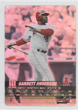 2004 MLB Showdown #001 - Garret Anderson