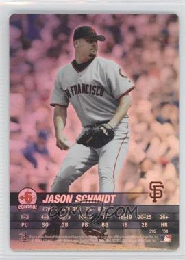 2004 MLB Showdown #292 - Jason Schmidt