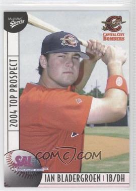 2004 Multi-Ad Sports South Atlantic League Top Prospects - [Base] #3 - Ian Bladergroen