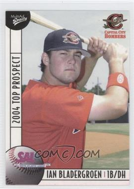 2004 Multi-Ad Sports South Atlantic League Top Prospects #9 - Ian Bladergroen