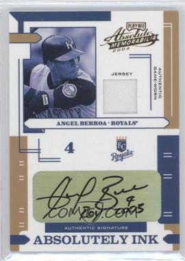 2004 Playoff Absolute Memorabilia [???] #AI-9 - Angel Berroa /100