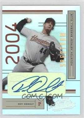 2004 Playoff Absolute Memorabilia Spectrum Gold Signatures [Autographed] #88 - Roy Oswalt /10