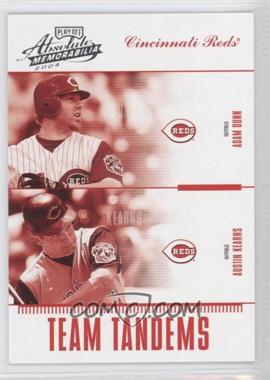 2004 Playoff Absolute Memorabilia Team Tandems #TAN-10 - Adam Dunn, Austin Kearns /250
