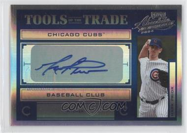 2004 Playoff Absolute Memorabilia Tools of the Trade Spectrum Blue Signatures [Autographed] #TT-90 - Mark Prior /50