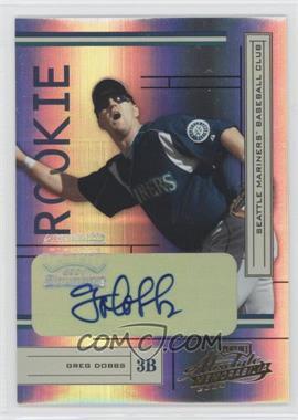 2004 Playoff Absolute Memorabilia #234 - Greg Dobbs /500