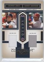 Chipper Jones, Garret Anderson, Lance Berkman, Shawn Green /100