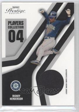 2004 Playoff Prestige - Players Collection Relics #PC-75 - Rickey Henderson