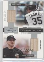 Frank Thomas, Magglio Ordonez /250