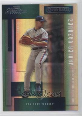 2004 Playoff Prestige Xtra Bases Green #111 - Javier Vazquez /150