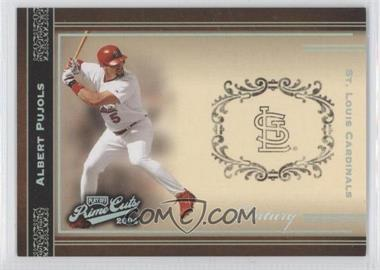 2004 Playoff Prime Cuts Century #3 - Albert Pujols /100