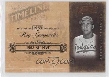 2004 Playoff Prime Cuts II - Timeline #TL-85 - Roy Campanella /50