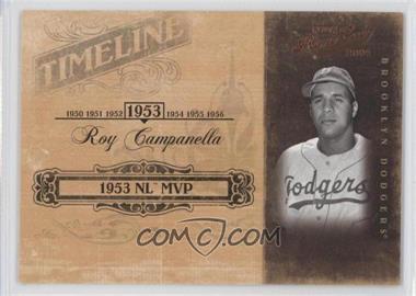 2004 Playoff Prime Cuts II Timeline #TL-85 - Roy Campanella /50