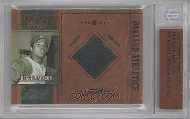 2004 Playoff Prime Cuts MLB Icons #MLB-28 - Reggie Jackson /50 [BGSAUTHENTIC]
