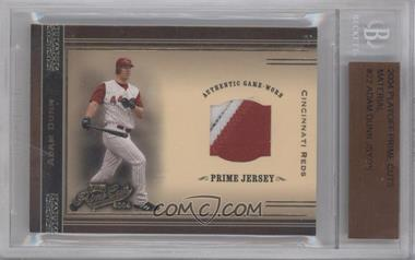 2004 Playoff Prime Cuts Materials #22 - Adam Dunn /25 [BGS AUTHENTIC]