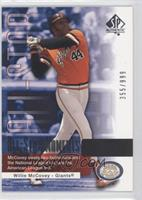 Willie McCovey /999