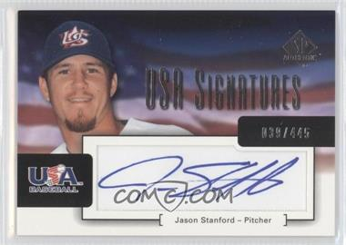 2004 SP Authentic [???] #USA-19 - [Missing] /445