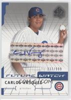 Carlos Vasquez /999