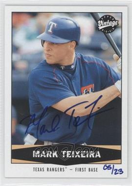 2004 SP Authentic SP Buy Backs #262 - Mark Teixeira /23