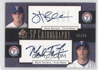 Hank Blalock, Mark Teixeira /50