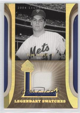 2004 SP Legendary Cuts - Legendary Swatches #LSW-TS - Tom Seaver