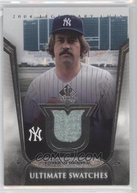 2004 SP Legendary Cuts - Ultimate Swatches #US-CH - Catfish Hunter