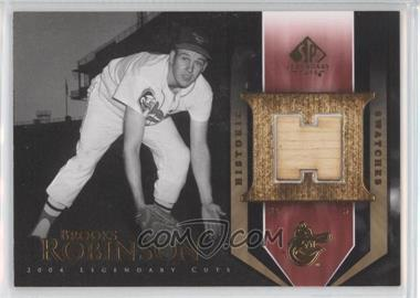 2004 SP Legendary Cuts Historic Swatches #HS-BR - Brooks Robinson