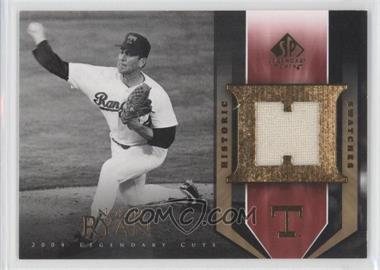 2004 SP Legendary Cuts Historic Swatches #HS-NR - Nolan Ryan
