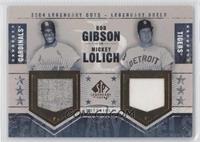 Bob Gibson, Mickey Lolich /25