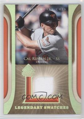 2004 SP Legendary Cuts Legendary Swatches #LSW-CR - Cal Ripken Jr.