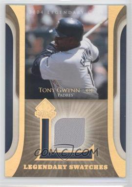 2004 SP Legendary Cuts Legendary Swatches #LSW-TG - Tony Gwynn