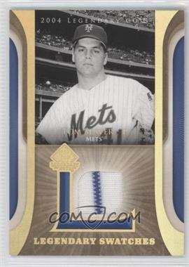 2004 SP Legendary Cuts Legendary Swatches #LSW-TS - Tom Seaver