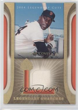 2004 SP Legendary Cuts Legendary Swatches #LSW-WM - Willie McCovey